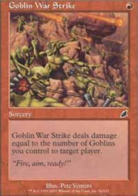 goblin deck the best goblin deck its only lost once magic the