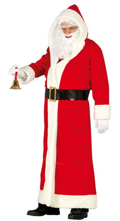 deluxe papa noel or santa claus hooded robes by guirca