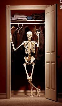 Skeletons Out Of The Closet by Skeleton In Closet Grand Rants