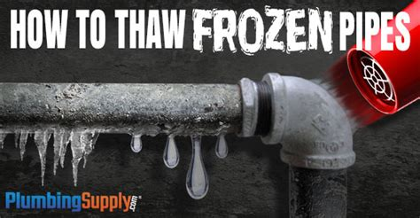 how to unfreeze bathroom pipes how to thaw frozen pipes
