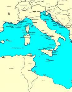 Ancona Italy Map by Ancona Italy Discount Cruises Last Minute Cruises