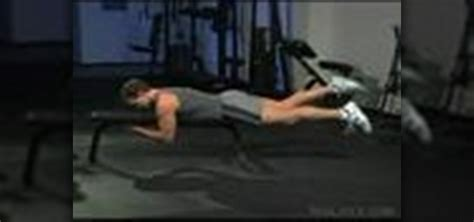 Bench Kick Out how to do flat bench freestyle kicks 171 sculpting