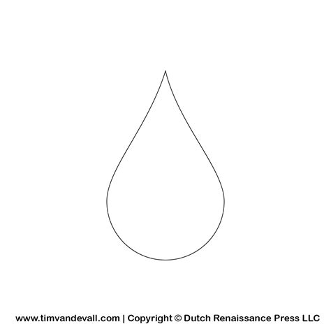 coloring page of water drop water drop coloring only coloring pages