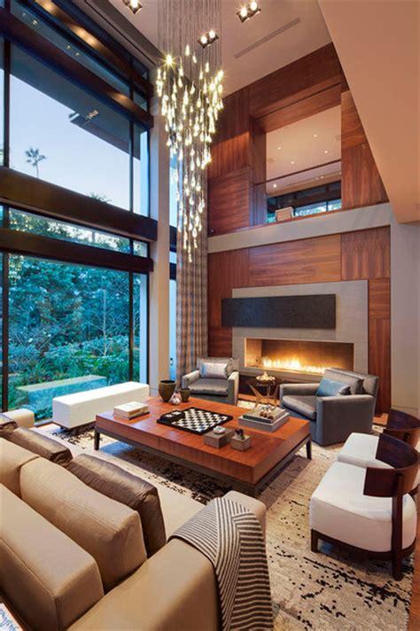 Modern Warm Living Room Designs Beverly Warm Modern Contemporary Living Room