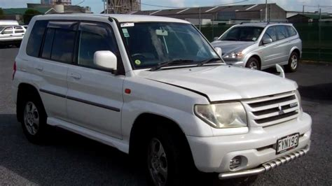 mitsubishi pajero io 2000 2000 mitsubishi pajero io cash4carsnz sold