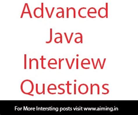 java tutorial questions pdf advanced java interview questions and answers for freshers