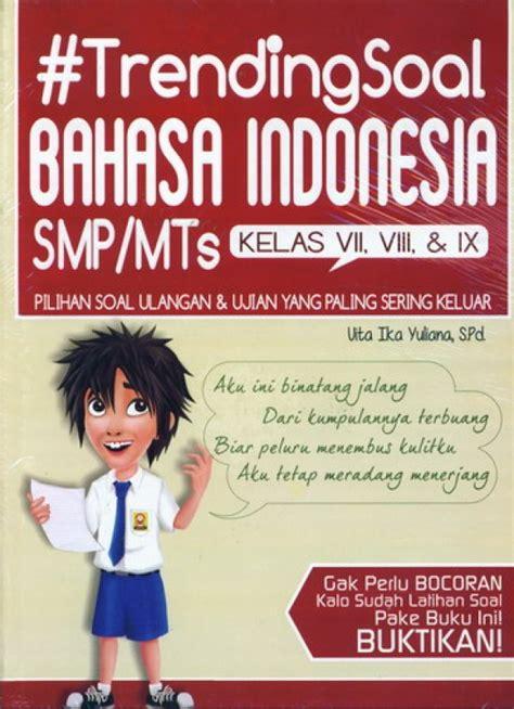 Trending Soal Biologi Kimia Smp Mts bukukita trending soal bahasa indonesia smp mts