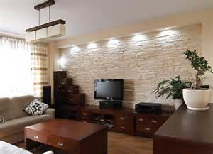 verblendsteine wohnzimmer steinzeit design kunstfelsen dekorfelsen