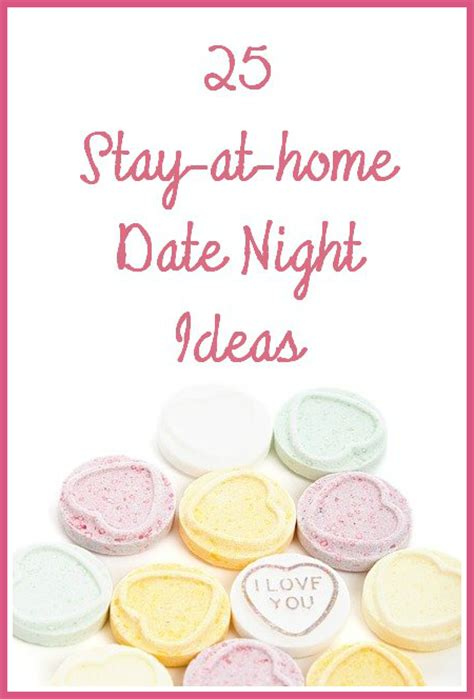 25 stay at home date ideas imperfect homemaker