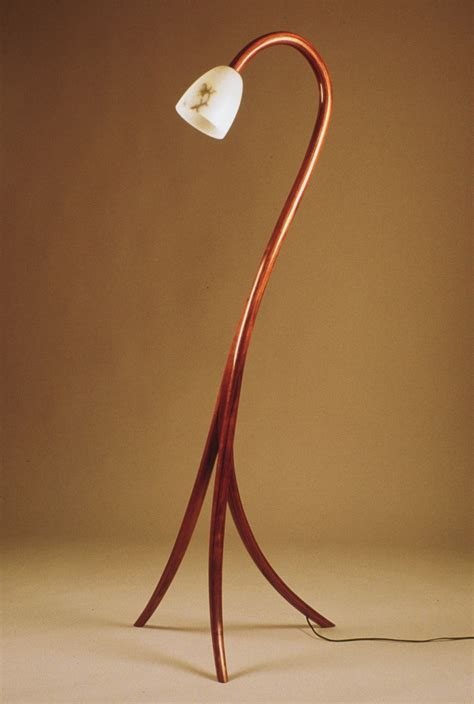 woodworks bentwood laminated lamp popular woodworking