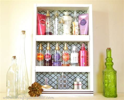 Perfume Rack by Diy Perfume Rack Http Www Thriftyandchic Search