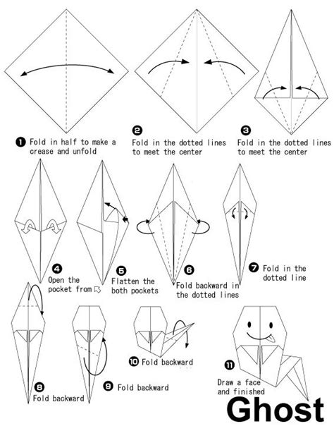 printable origami bat instructions 25 best ideas about origami halloween on pinterest