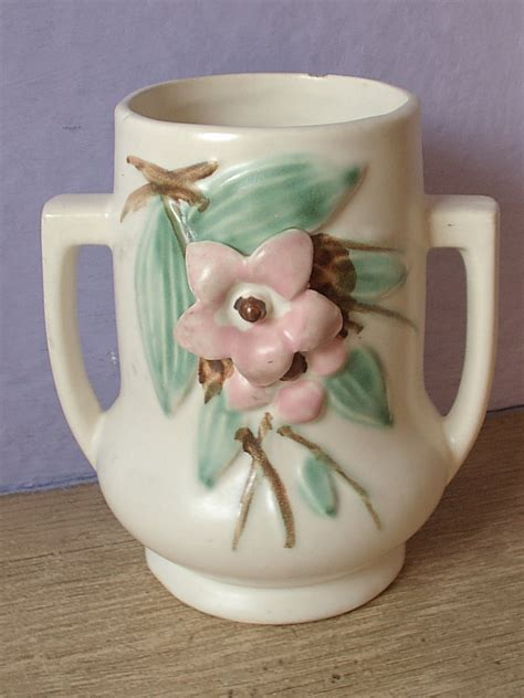 Mccoy Vases Value by Antique 1940 S Mccoy Pottery Vase Blossom Time By