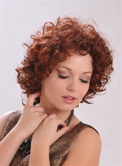 Curly Medium Wig medium curly hair wig human hair wigs p4