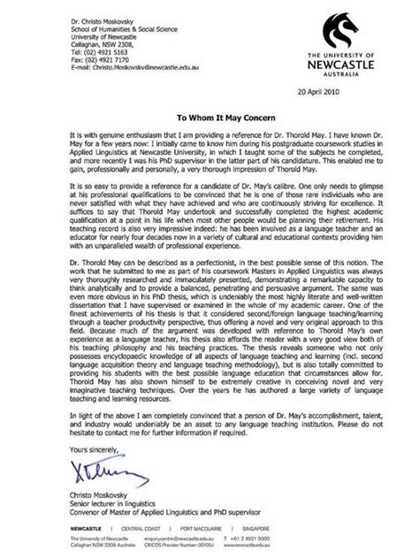 Recommendation Letter Quora what is the best letter of recommendation you