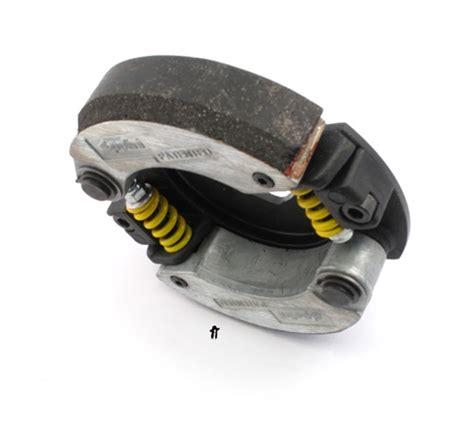 Polini Evolution Clutch Adjustable For Yamaha N Max Aerox 155 1 polini yamaha minarelli scooter 2 shoe evolution 3 speed clutch 107mm bell
