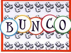 bunco punch card template bunco on bunco and