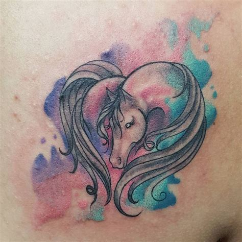 watercolor horse tattoo 888 best images about equine on