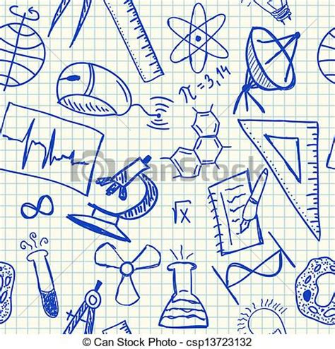 doodle science login vectors of science doodles seamless pattern science