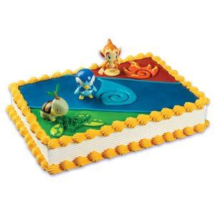 amazoncom pokemon cake kit   figures kitchen dining