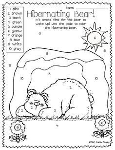 coloring pages animals hibernating 1000 images about bears and hibernation theme on