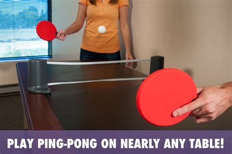 how to play table tennis pongo play ping pong on nearly any table