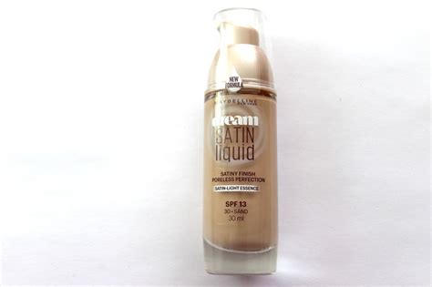 Maybelline Satin maybelline satin liquid satiny finish foundation choose shade ebay