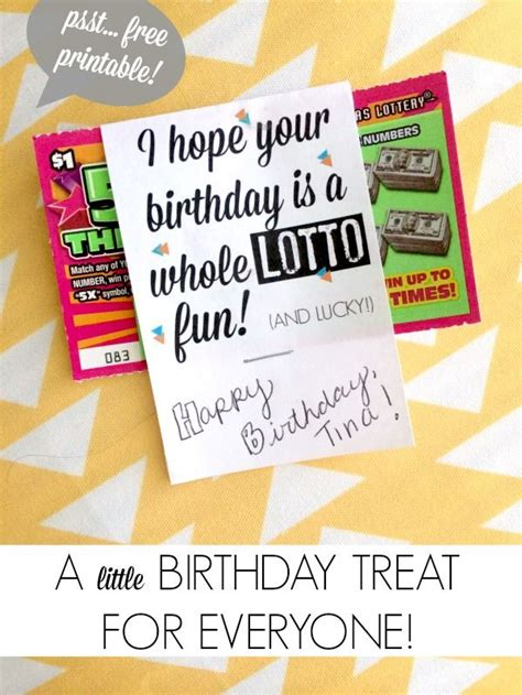 printable lottery tickets 101 diy birthday gifts free printable lotto tickets