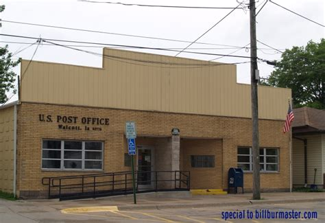 Muscatine Post Office by Photo Courtesy Tom Rust