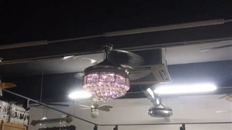 retractable pendant light ceiling cool ceiling fan with retractable blades youtube lights