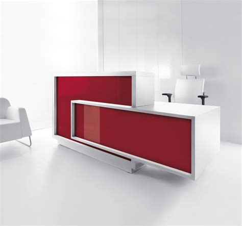 foro modern reception desk mdd office furniture modern