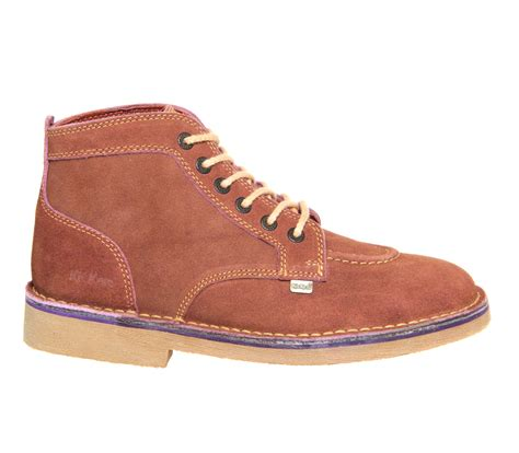 Sepatu Kickers Boots Suede Brown kickers legendary boots brown suede boots