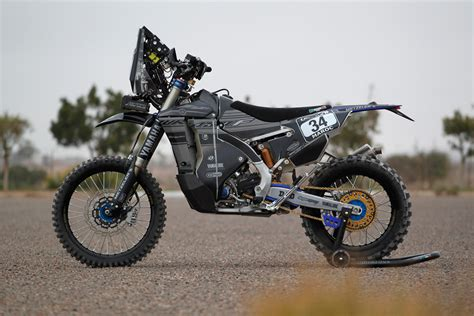 Rally Motorrad by Enduro21 First Look Yamaha S Stealthy Wr450f Rally Bike