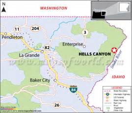 hells idaho map facts best time to visit
