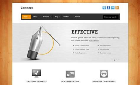 free html responsive template 40 free and premium css html business templates ginva
