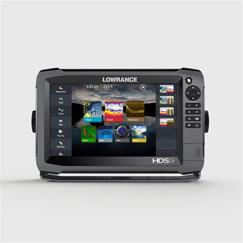 Finder Usa Lowrance Hds 9 Gen3 Sonar Fish Finder With Insight Usa 83 200 Khz Transducer 660722