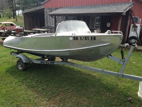 feather craft aluminum boat for sale feather craft deluxe runabout 1954 for sale for 200