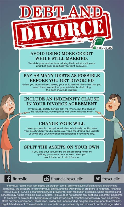 Divorce And Credit by Debt And Divorce Millennial Credit Card Money Pay