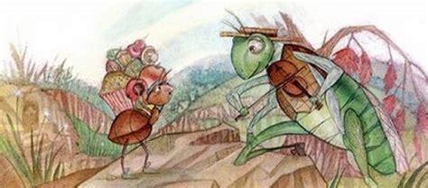 semut dan belalang malas