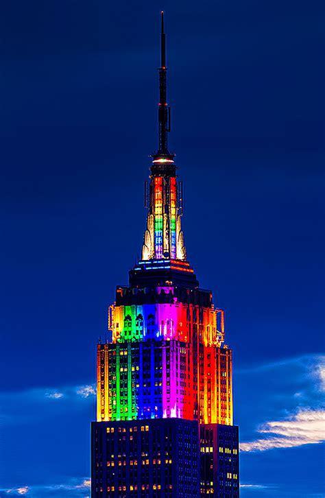 empire state building lights tonight eddi ryce photograph second life new york city