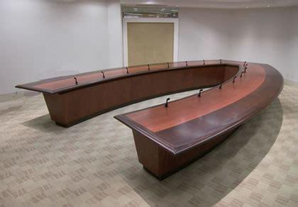 custom conference table | custom boardroom table | large