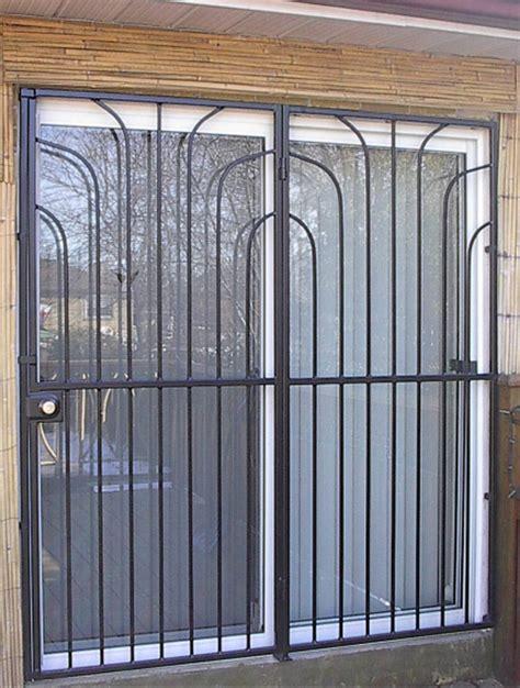 Patio Gate Special Design 1   Metalex Security Doors