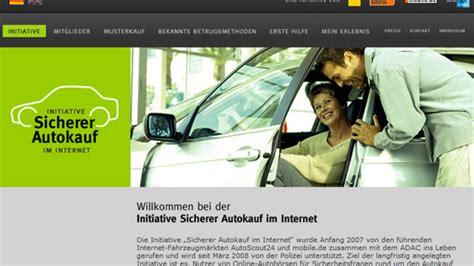Auto Kauf De by Quot Sicherer Autokauf Im Quot Interessiert Millionen