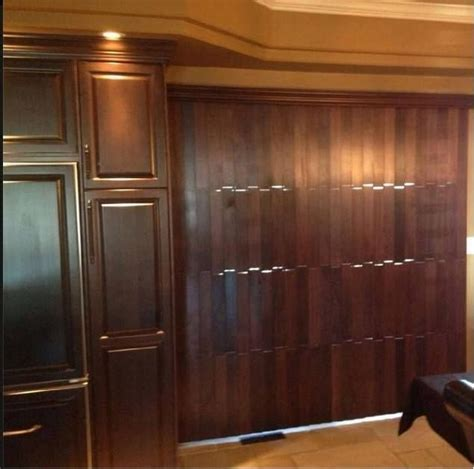 Wooden Blinds For Sliding Glass Doors Something You Don T Find Everyday Vertical Wood Blinds To