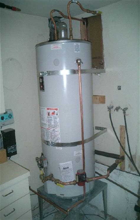 Water Heater Installation Gas Water Heater How To Install A Gas Water Heater