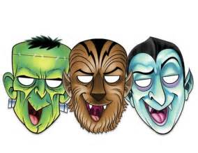 free printable halloween masks coloring pages free