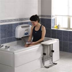 bathtub lift wheelchair assistance minivator bath lift