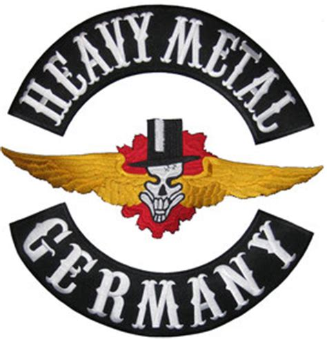 Aufnäher Patches Heavy Metal by Heavy Metal Black Metal Kutten Patches Aufn 228 Her