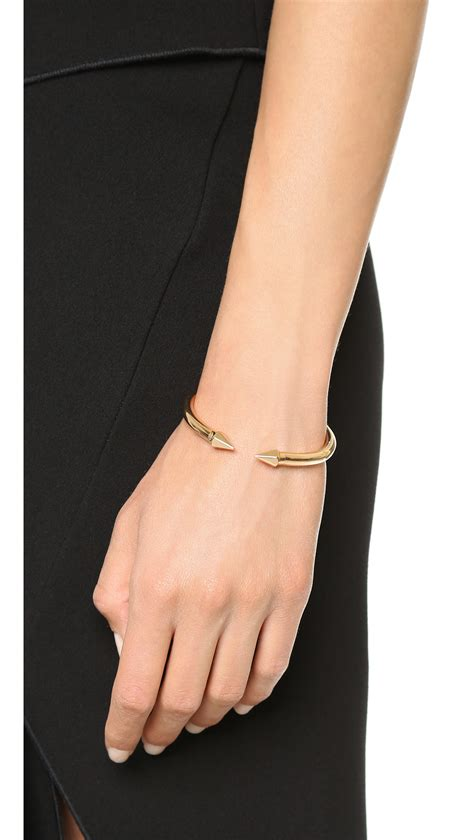 lyst vita fede mini titan hexagon bracelet rose gold