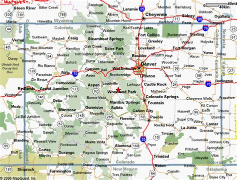 colorado map with cities map of colorado with cities arizona map